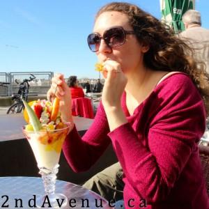 Ice cream in Dusseldorf