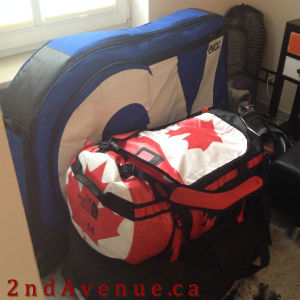 All of our stuff... packed!