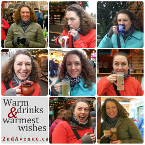Christmas market drinks
