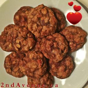 Baking in Translation - Cinnamon almond oat cookies