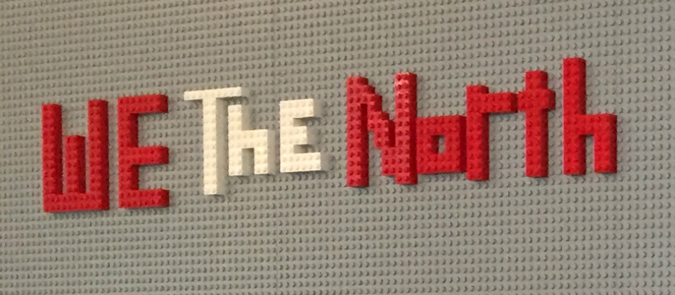 We the North in LEGO block - the perfect combo of Canadian and Danish